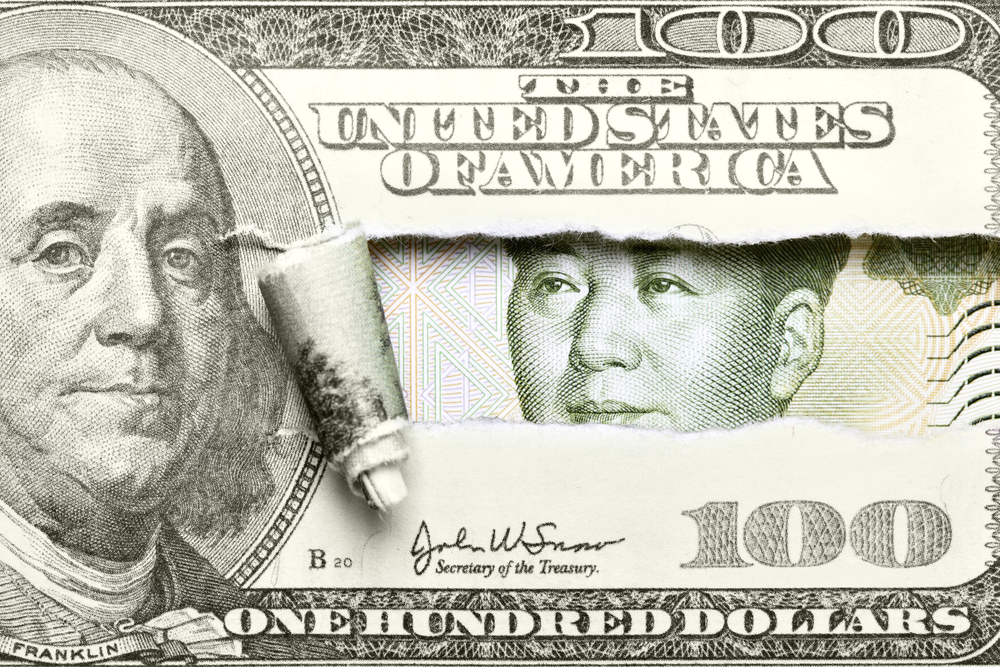 dollar yuan currency exchange rate china america