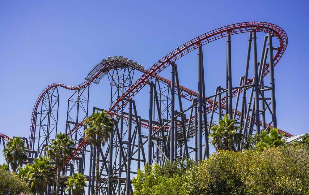 Six Flags theme park (ShutterStock image)