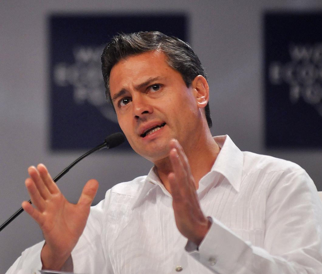 FILE: Enrique Pena Nieto Photo courtesy of World Economic Forum / Flickr.