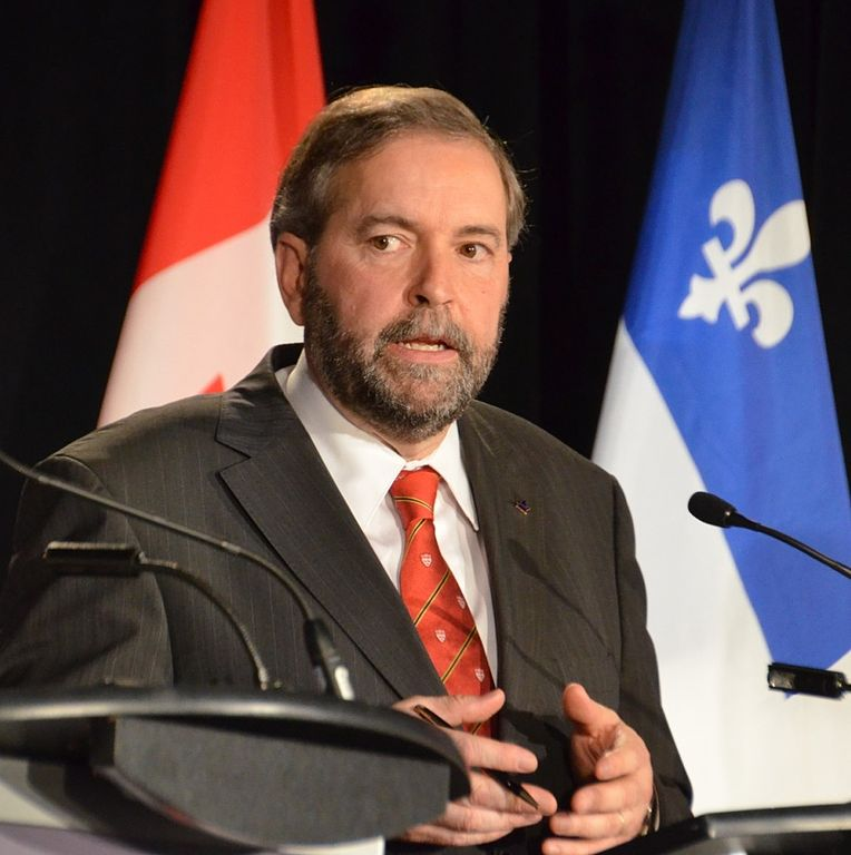 Tom Mulcair. Photo by Jonathan Allard / Flickr.