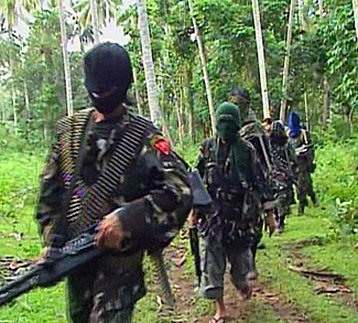 ABU SAYYAF GROUP (Screenshot from video courtesy of the Institute for the Study of Violent Groups)