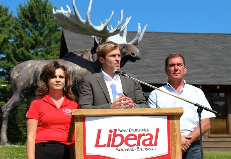 New Brunswick Liberal Leader Brian Gallant (Photo from Gallant's official Facebook page)