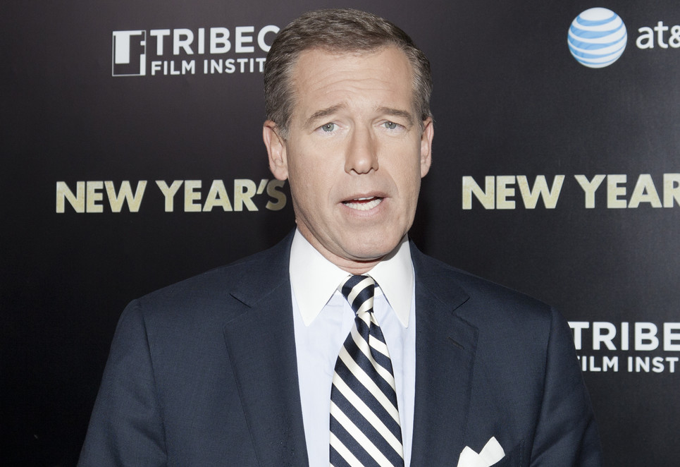 NBC anchor Brian Wiliiams (Lev Radin / ShutterStock)