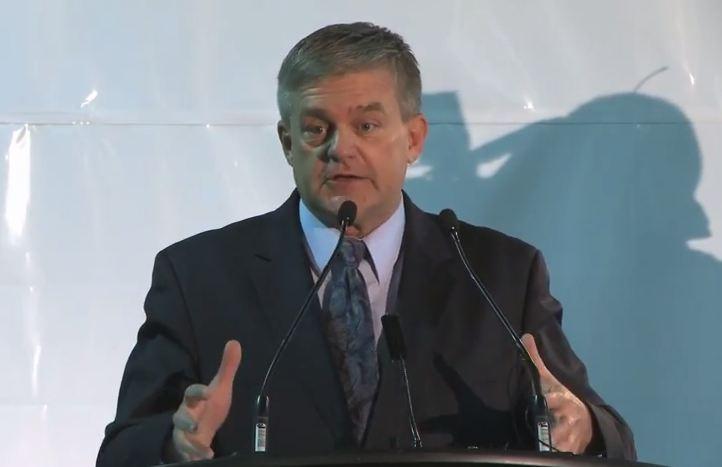 New Brunswick Premier David Alward (Screengrab from JDIrving Company footage)