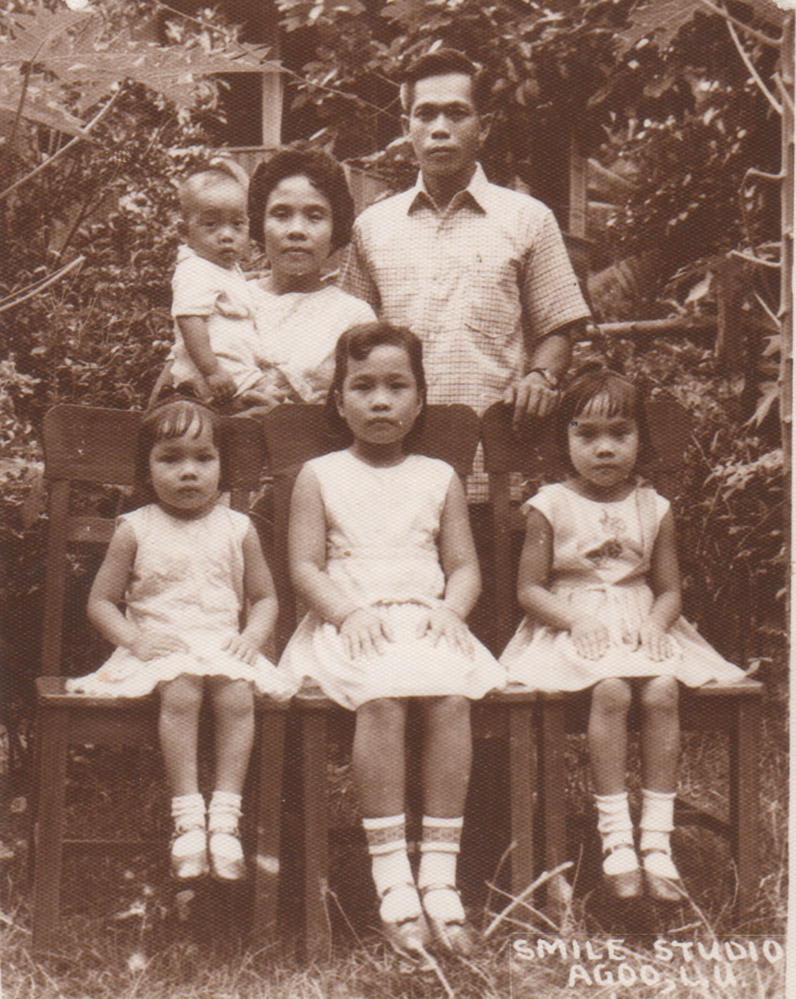 THROWBACK. Rose and Ed Gayo with their children, Esmie, Thelma, Myrna and Ross.
