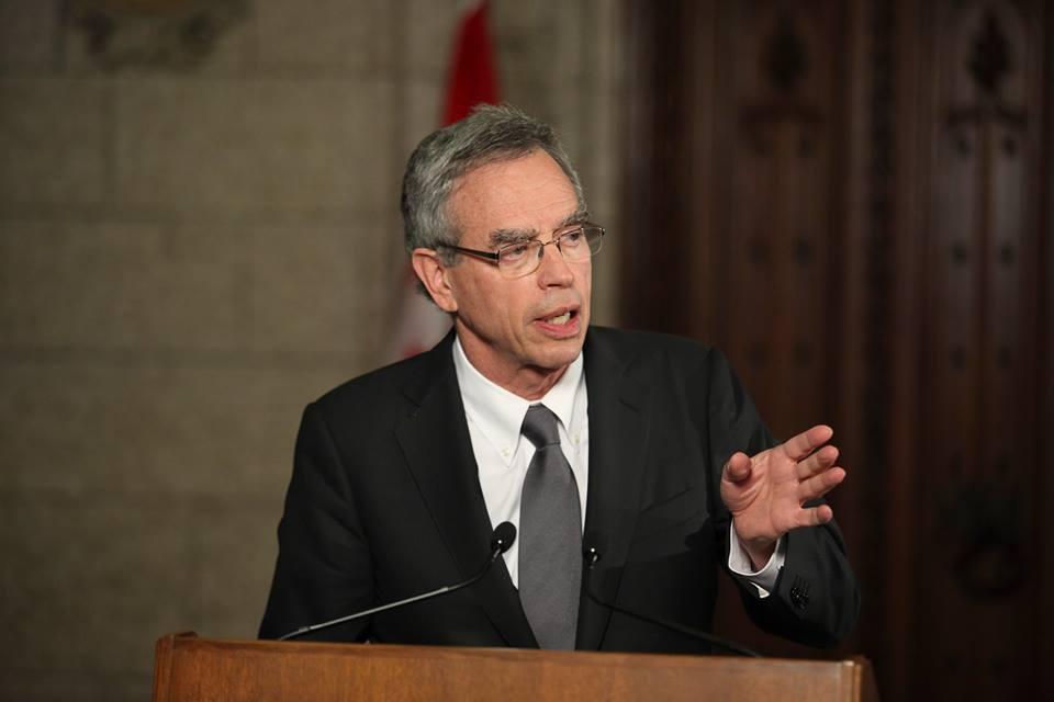 Canada's Minister of Finance Joe Oliver (Facebook)