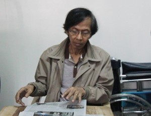 Fugitive retired Army General Jovito Palparan was arrested Tuesday (Aug. 12) by joint Armed Forces of the Philippines (AFP) and National Bureau of Investigation (NBI) operatives in Sta. Mesa, Manila, after almost three years in hiding. (PNA photo by Avito C. Dalan)