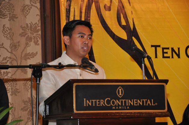 Makati City Mayor Jejomar Erwin 'Junjun' Binay. Photo courtesy of Junjun Binay's Facebook page.