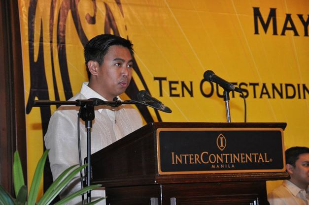 "Makati City Mayor Jejomar Erwin ""Junjun"" Binay (Photo from Binay's Facebook page)"
