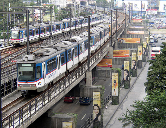 MRT3 Shaw Boulevard Station (Photo courtesy of UrbanRail)
