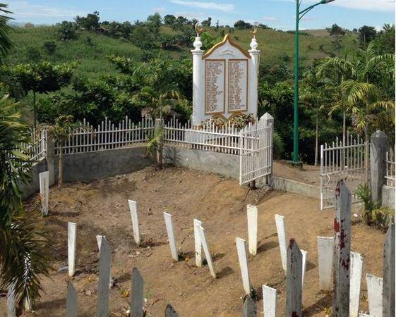 Maguindanao Massacre gravesite. Photo by Carlos H. Conde / Twitter