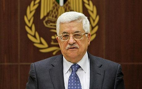 Palestinian President Mahmoud Abbas (Conservapedia)