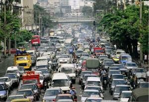 Manila traffic  (Photo courtesy of PanoBaMagBlog on WordPress)