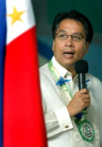 DILG Secretary and Liberal Party frontrunner for 2016 Mar Roxas (Photo from Roxas' official Facebook page)