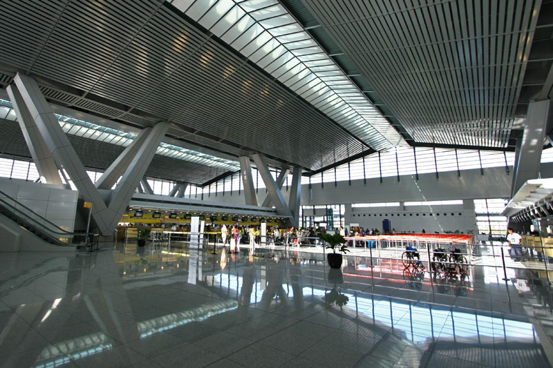 Manila's Ninoy Aquino International Airport Terminal 3 (Photo by Mithril Cloud, CC BY-SA 3.0.)