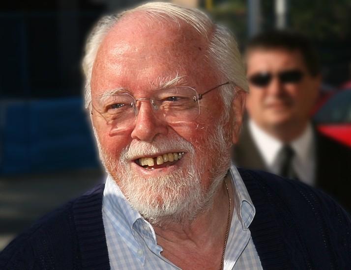 Actor - Director Richard Attenborough (Wikipedia photo)