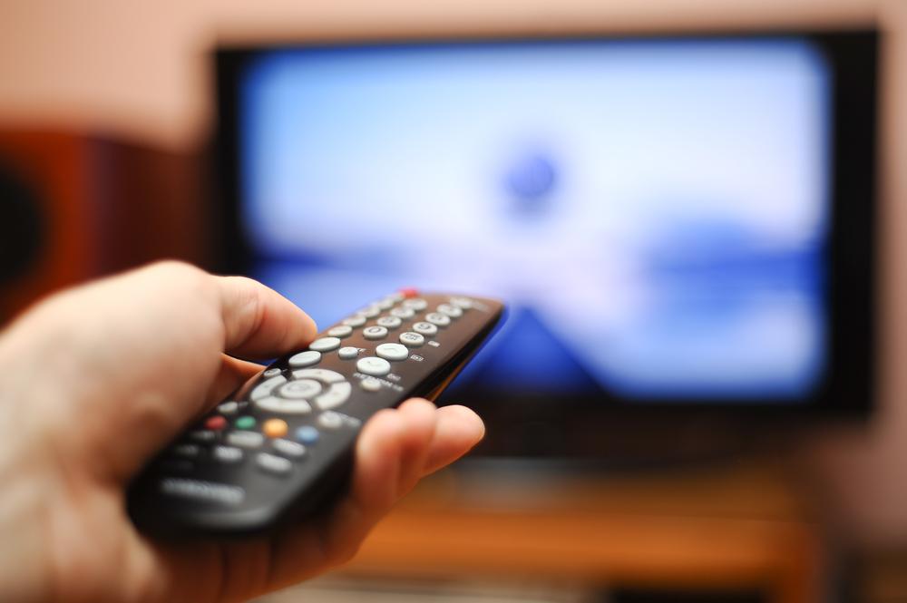 TV television remote control