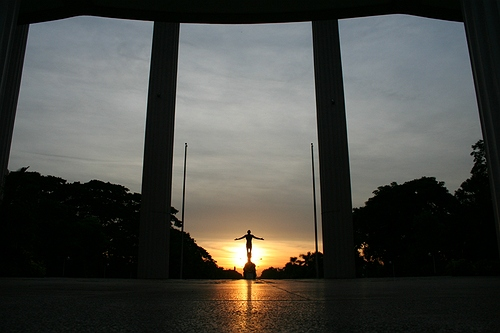 University of the Philippine Diliman oblation (CM Lagman / Wikipedia)
