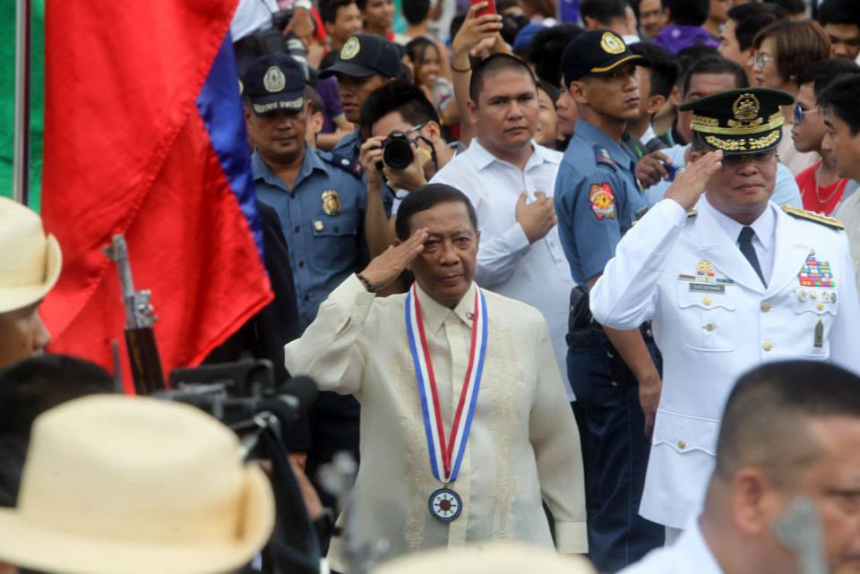 Vice President Jejomar Binay (Photo courtesy of Binay's official Facebook page)