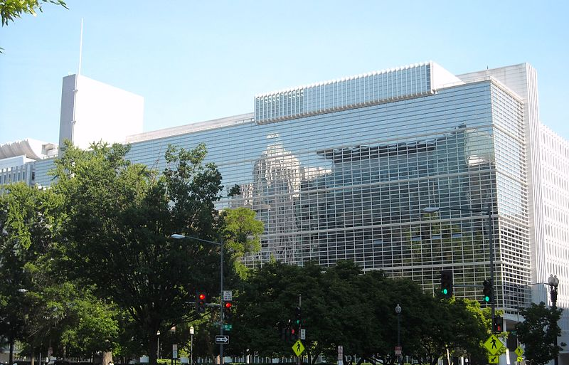 World Bank headquarters in Washington, D.C. (Wikimedia Commons)