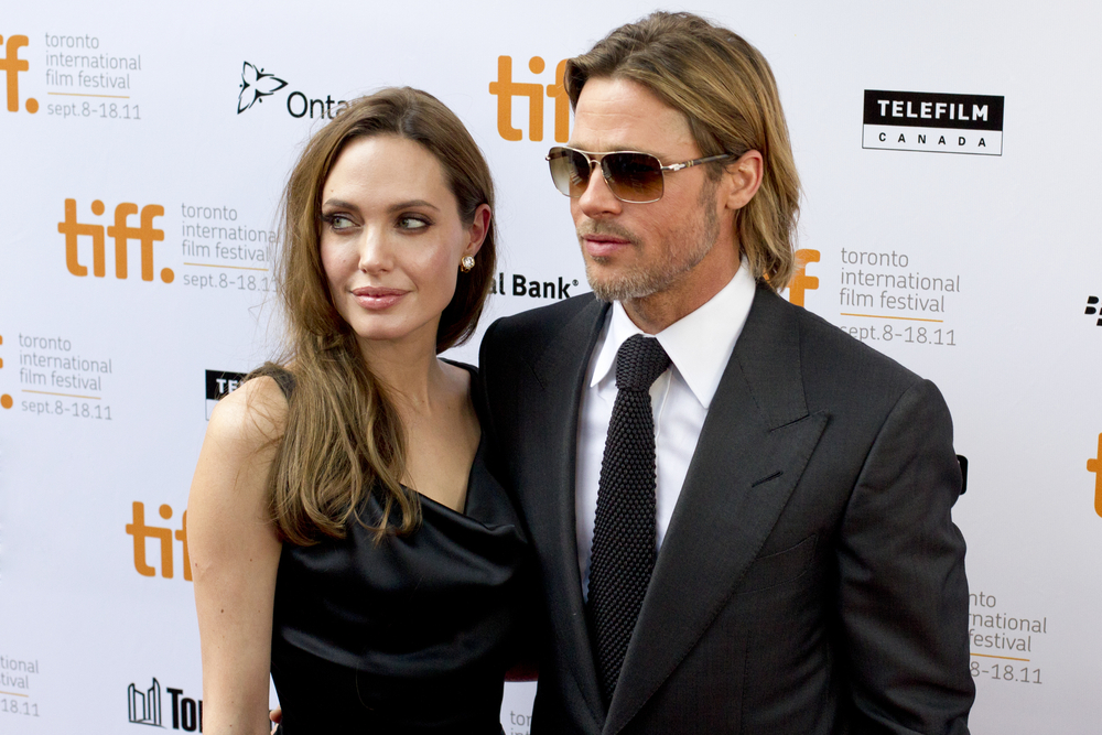 Brad Pitt and Angelina Jolie (Dan Kosmayer / Shutterstock)