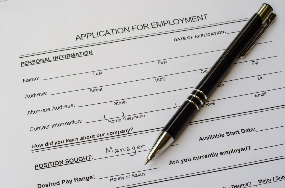 job work application employment