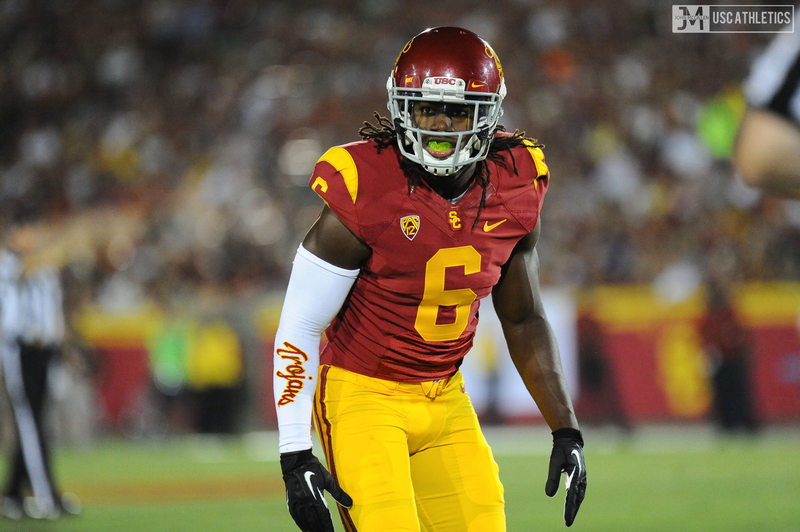 USC cornerback Josh Shaw. Photo from USC Athletics.