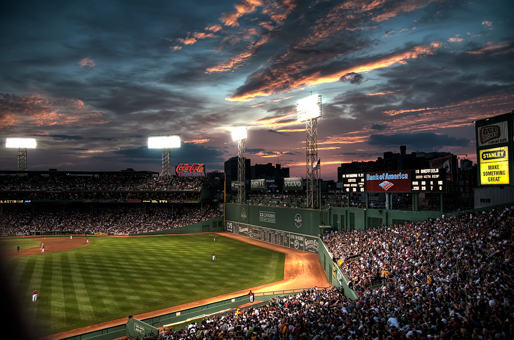 The Fenway Stadium in Boston. Photo by Werner Kunz / Flickr.