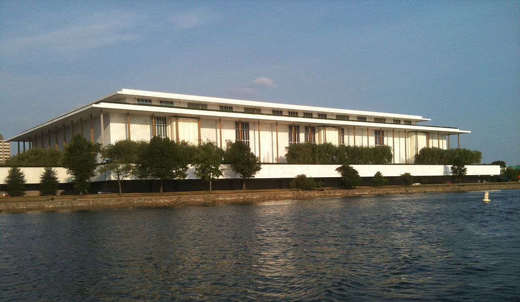 The Kennedy Center. Photo by Tom / Wikimedia Commons.