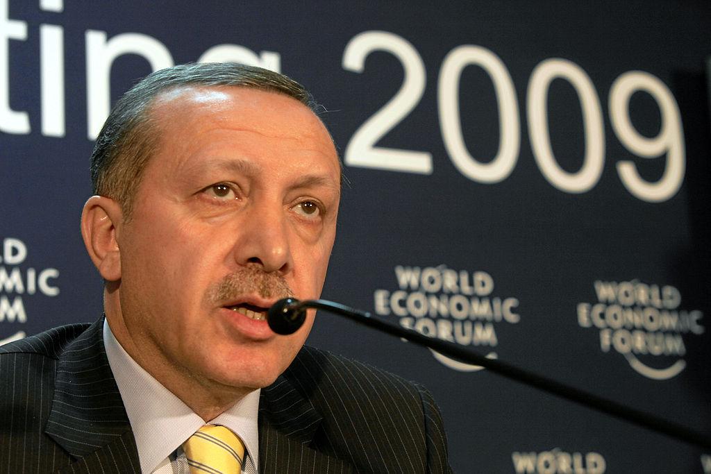 Recep Tayyip Erdogan, President of Turkey. Copyright by World Economic Forum, swiss-image.ch / Photo by Andy Mettler.