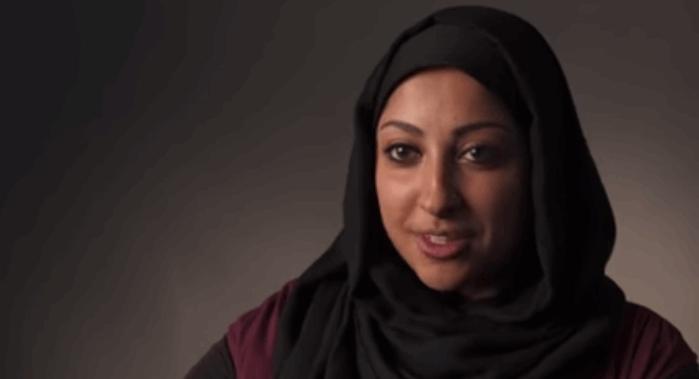 Maryam Al-Khawaja. Screenshot from Freedom House / Youtube.