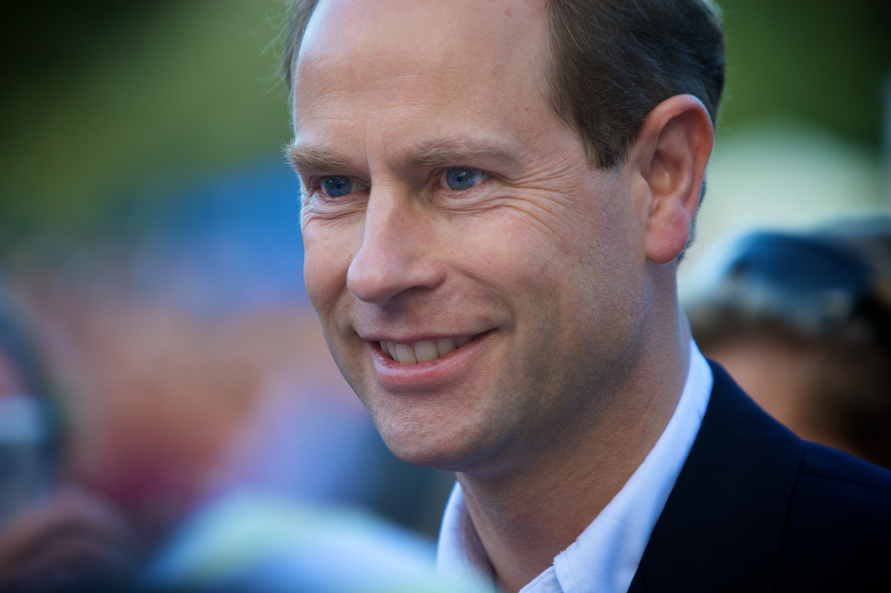 Prince Edward, Earl of Wessex. Photo by Chris Tostevin-Hall / Flickr.