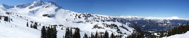 Panoramic view of Whistler (Wikipedia photo)
