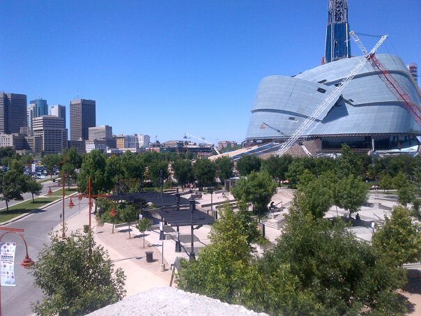 Canadian Museum for Human Rights. Photo by Ovahlordx / Wikimedia Commons.