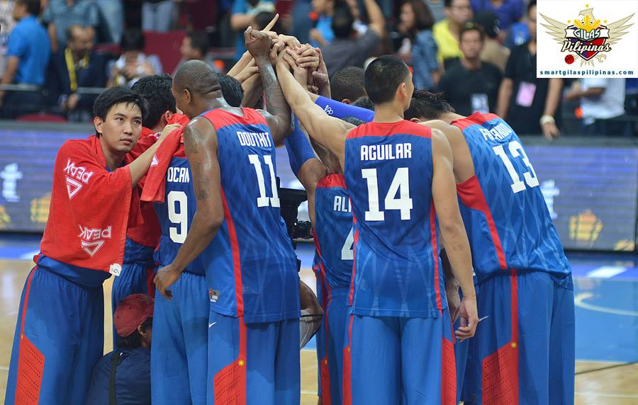 Smart Gilas Pilipinas is official out of the running for a medal in the Asian Games (Photo courtesy of Smart Gilas Basketball on Facebook)
