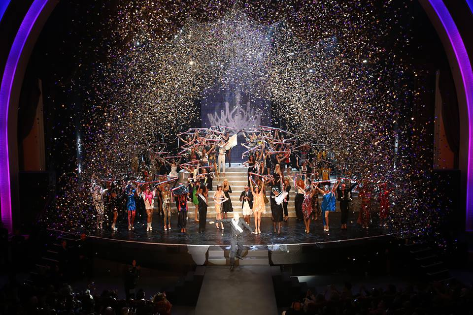 Jean Paul Gaultier's finale (Photo from Gaultier's official Facebook page)