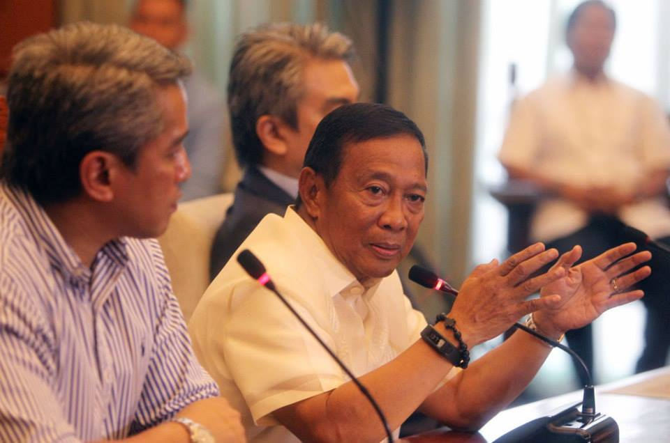 Vice President Jejomar Binay (Facebook photo)