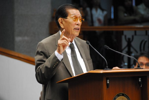 Sen. Juan Ponce Enrile (Facebook photo)