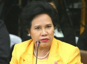 """Iron Lady of Asia"" Sen. Miriam Defensor Santiago (Photo courtesy of @SenMiriam on Twitter)"