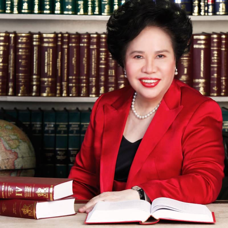 Sen. Miriam Defensor Santiago (Facebook photo)