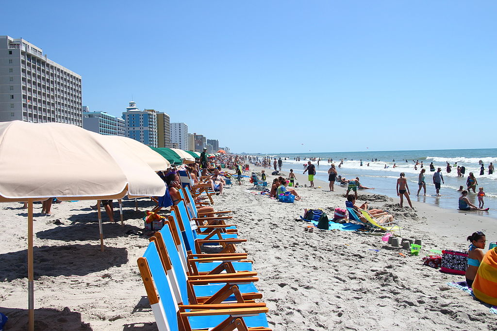 South Myrtle Beach, South Carolina. Photo by David R. Tribble / Wikimedia Commons.