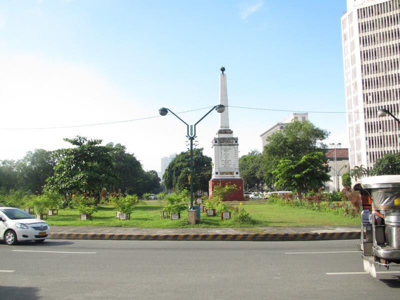 Anda Circle (photo courtesy of Skyscraper City)