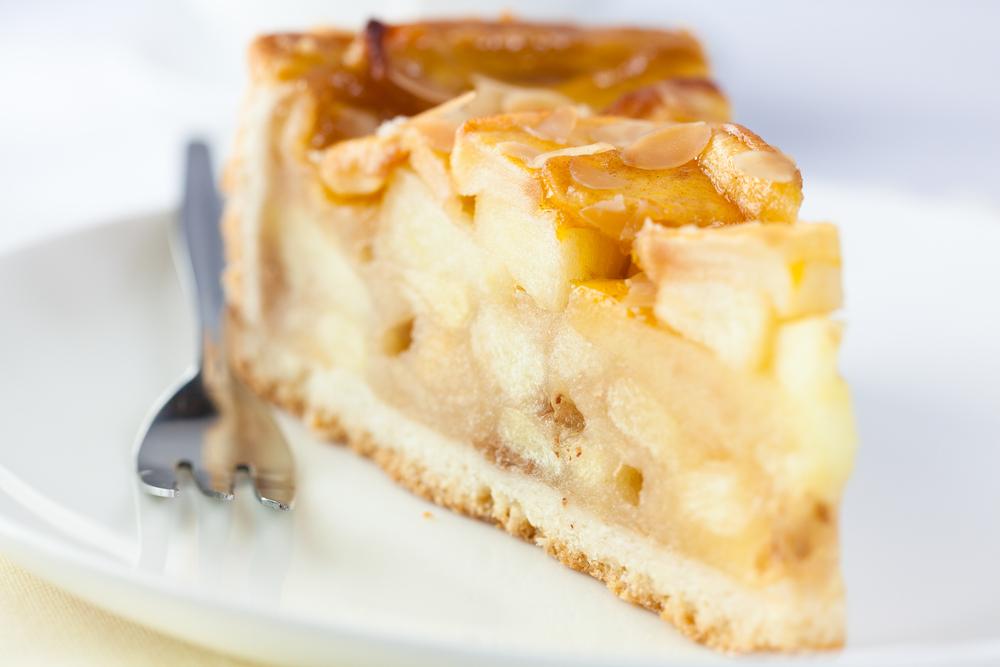 apple cake dessert food