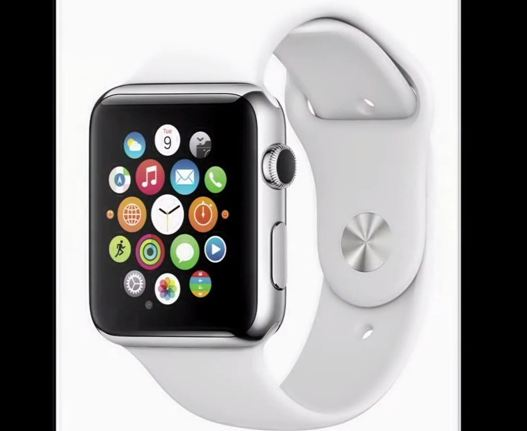Apple smartwatch (Screengrab from Los Angeles Times footage)