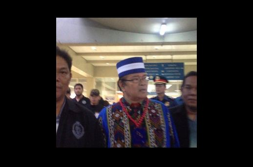 Self-proclaimed leader of USAFFE rightist group Ely Pamatong (Photo courtesy of Zyann Ambrosio / Twitter)
