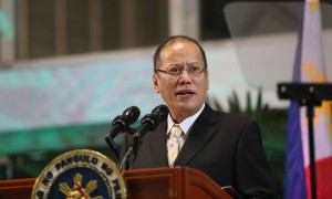 President Benigno S. Aquino III delivers his departure statement during the send-off ceremony at the Ninoy Aquino International Airport Terminal II on Saturday (September 13, 2014). The President is embarking on a four-nation official tour of Europe from September 13 to 20, his first to the region since he assumed office in 2010, to pitch for investments and support for the Philippine position to resolve the conflict in the West Philippine Sea. The President will first visit Spain, then proceed to Belgium, France and Germany for two days each. In New York City, President Aquino will highlight the country's vulnerability to weather disturbances as well as the Philippine government's initiatives in addressing climate change when he attends the Climate Summit 2014 in New York on September 23. (Photo by Lauro Montellano Jr. / Malacañang Photo Bureau)