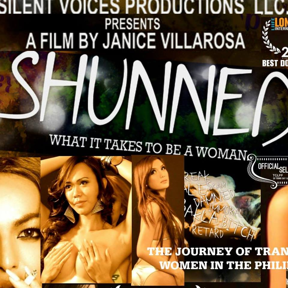 """Shunned""movie poster (from the Facebook page of Shunned)"