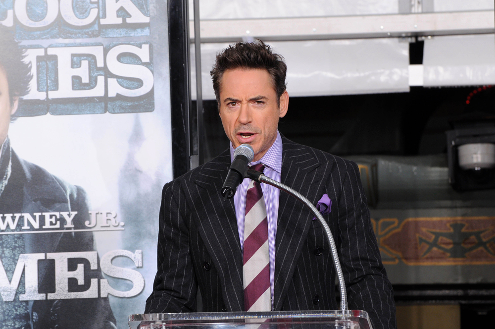 Robert Downey Jr. at Robert Downey Jr. Hand and Footprints Ceremony, Chinese Theater, Hollywood (S_Buckley / ShutterStock)