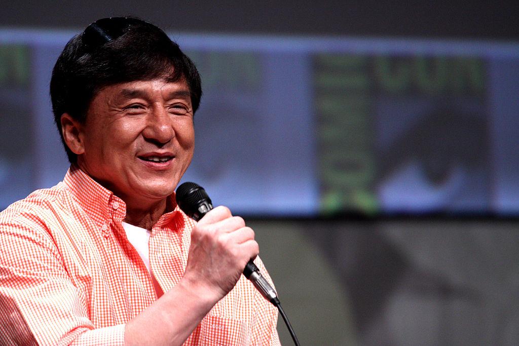 Jackie Chan. Gage Skidmore / Flickr.