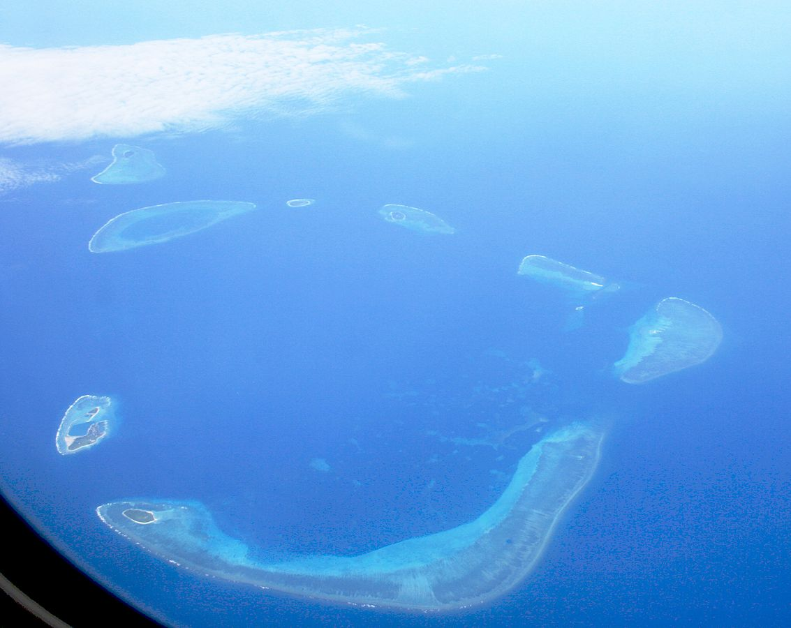 Crescent Group, Paracel Islands. Wikimedia Commons.